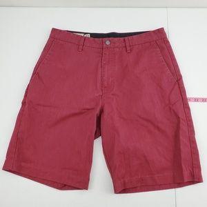 Volcom chino shorts size 33 K74